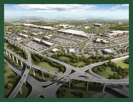 Houston Business Journal: Developer sets opening date for largest retail project under construction in Houston