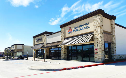 Sherwin-Williams is Coming Soon to Valley Ranch Town Center