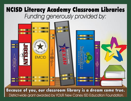 THE SIGNORELLI COMPANY PARTNERS WITH NEW CANEY ISD TO OPEN BRAND NEW CLASSROOM LIBRARIES
