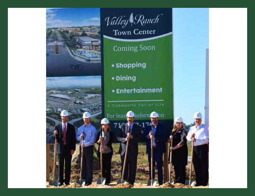 The Signorelli Company Breaks Ground for Kroger Marketplace® in Valley Ranch Town Center