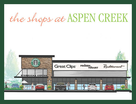 New Retail Coming to The Shops at Aspen Creek