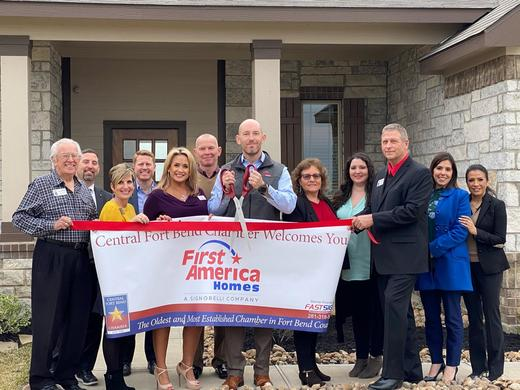 The Central Fort Bend Chamber of Commerce Welcomes First America Homes to Beasley