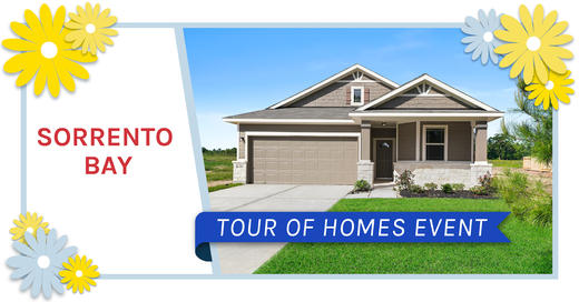 Tour of Homes at Sorrento Bay - May 16, 2020