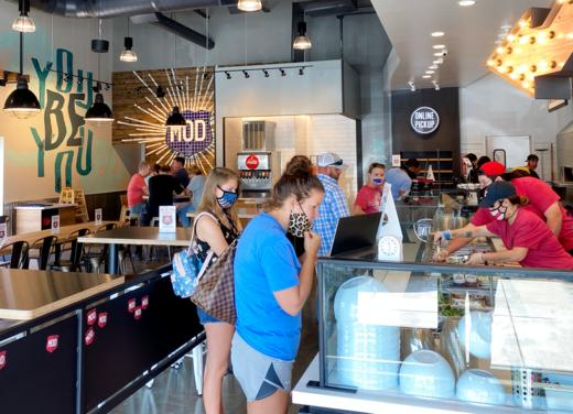 MOD PIZZA NOW OPEN IN VALLEY RANCH TOWN CENTER