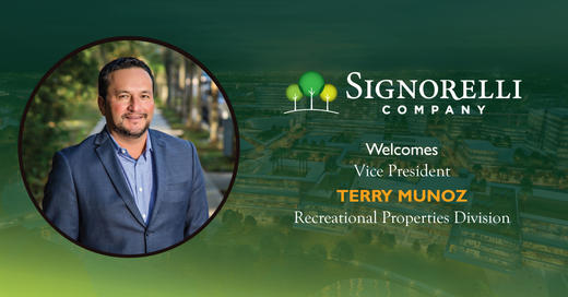 Houston Chron: The Signorelli Company hires Terry Munoz as VP to run new Recreational Properties division