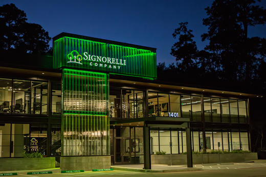 The Signorelli Company Wins Houston Business Journal's Coveted Landmark Award for Headquarter Move