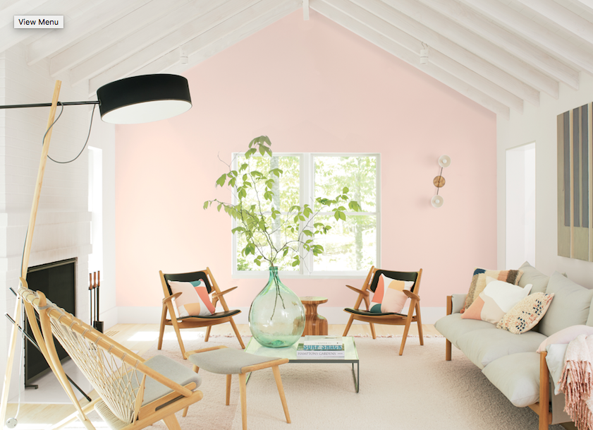 2020 Colors of the Year - Benjamin Moore First Light