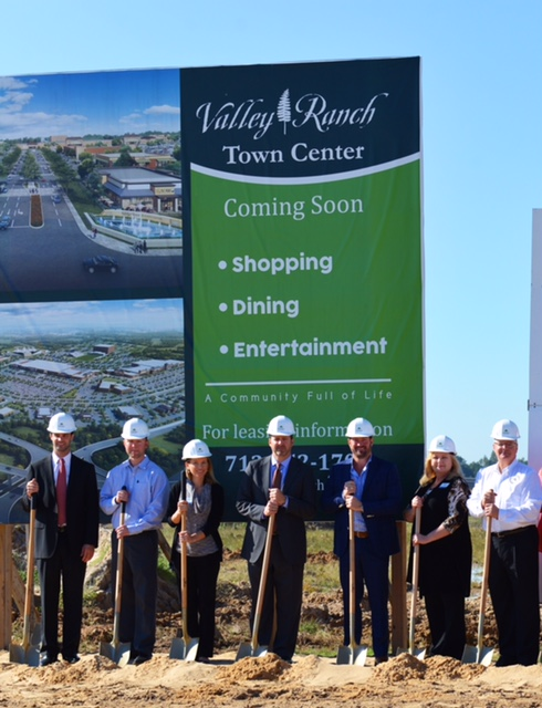 Valley Ranch Town Center Kroger Groundbreaking