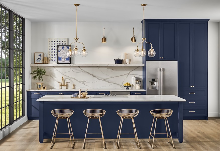 2020 Colors of the Year - Sherwin Williams Naval SW 6244