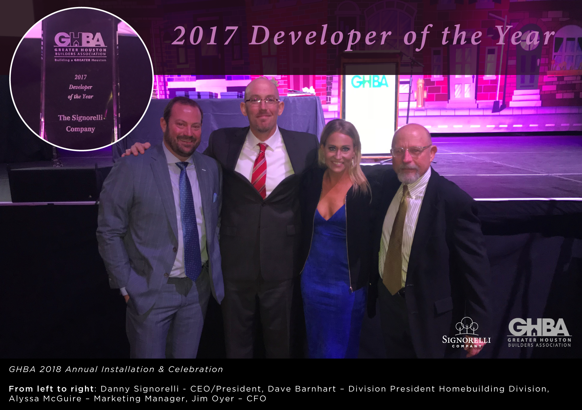 GHBA Developer of the Year