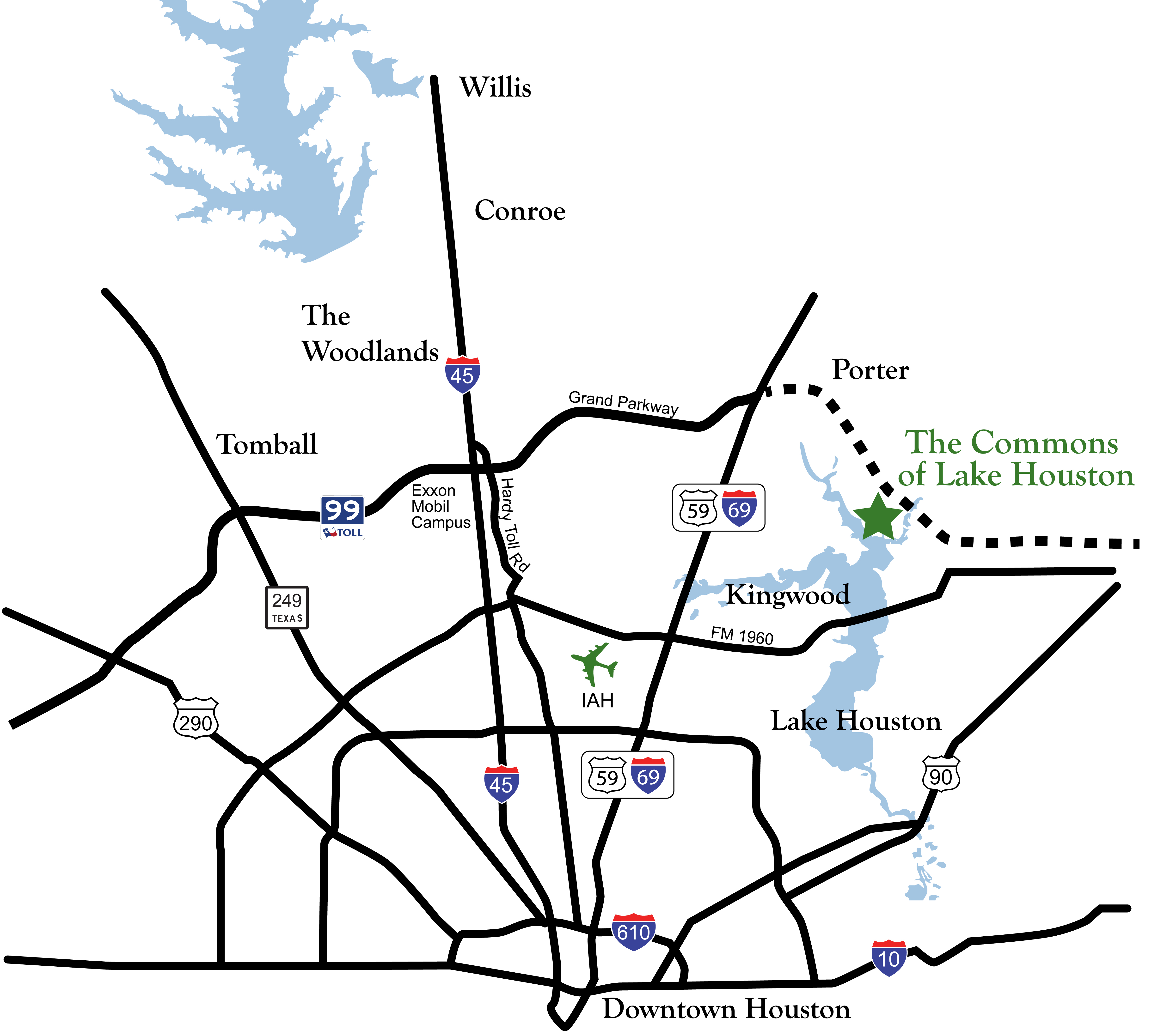Valley Ranch Map