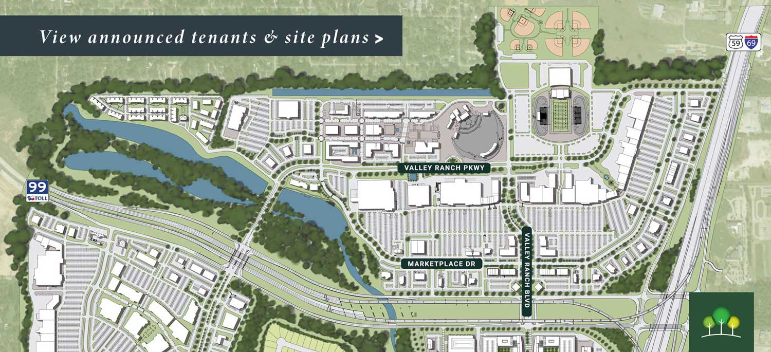 Valley Ranch Town Center Site Plan