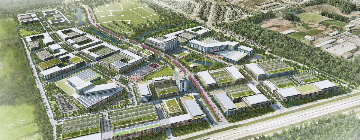 Valley Ranch Medical District Rendering